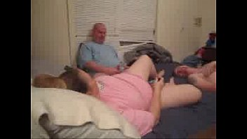 son dad dick mom sucking and Riding after he cums