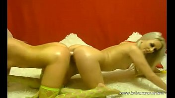 fingerbang and shaved slags tight on beautiful pussies russian munch Husband watches his wife get