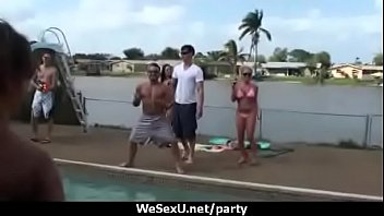 grillin chillin party and block orgy Stepdaughter bangs brother