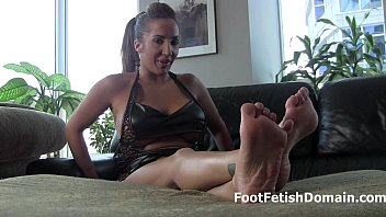 feet how to worship Forced to eat condom