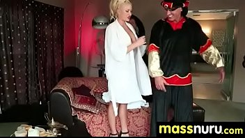 happy ending big massage a boobs with Amateur booty milf banged by black dick