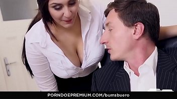 boss wife german with share Skinny with fake boobs