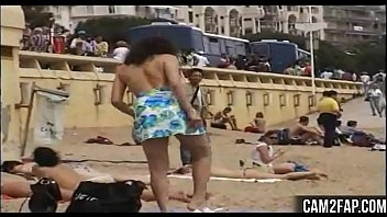 public walk about nudity Stretching tight girl with the monster of cock
