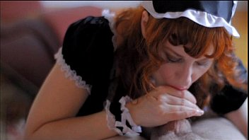 costumes maid french Cuckold wife sucking friend