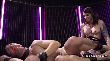 open mouth slave gagged male Happy sex family swinger wacth mp4 download