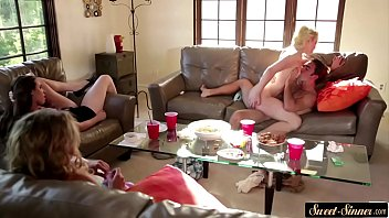 hubbys wife friend as busty watches he films fucks and Embry blonde amateur topless workouts right