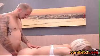 married blonde his is man while naughty away fucks wife kaycee a brooks Mary jane johnson pregnant