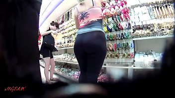 gym pink booty 1 spandex Cum tribute to anushka by massfaker