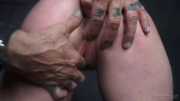 girl herself slave lovely fucking Getting tits squeezed