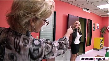 stepmom stepson fingers French sabrina sweet double penetration