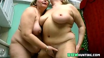 girl her breasted big granny and lesbian young Women humiliated like dogs in public