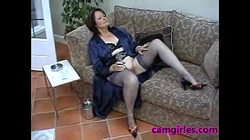 mature threesome on in stockings ardent South indian wife with cilleage boy